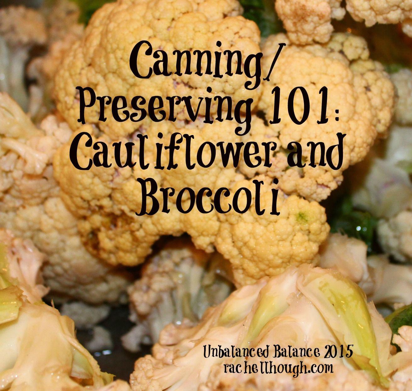 Freezing cauliflower and broccoli cauliflower freezing