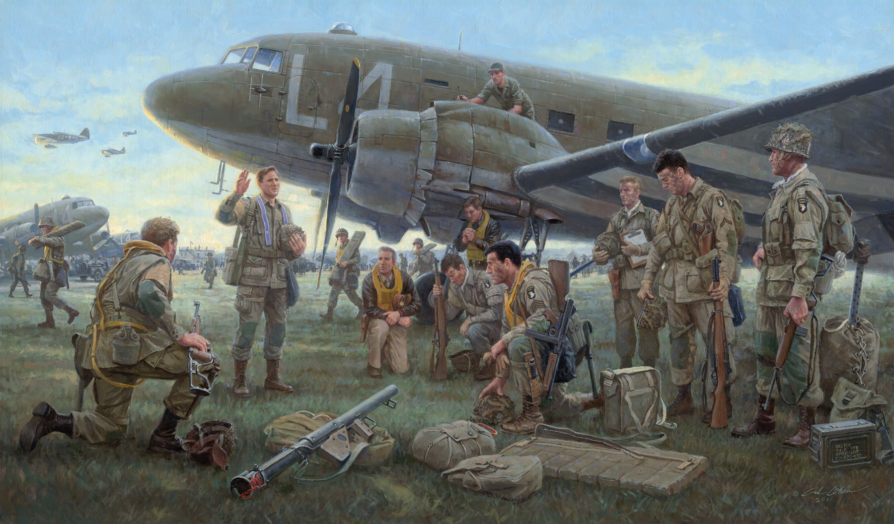 101st airborne d-day equipment