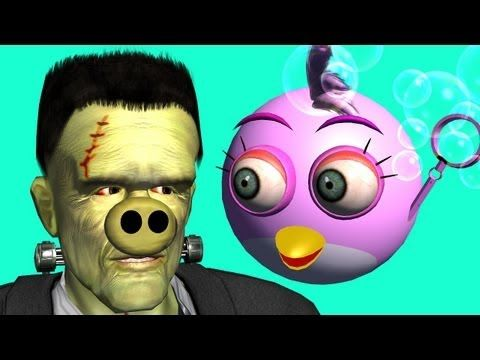 ANGRY BIRDS & CAPT  AMERICA vs  winter soldier ♫ 3D