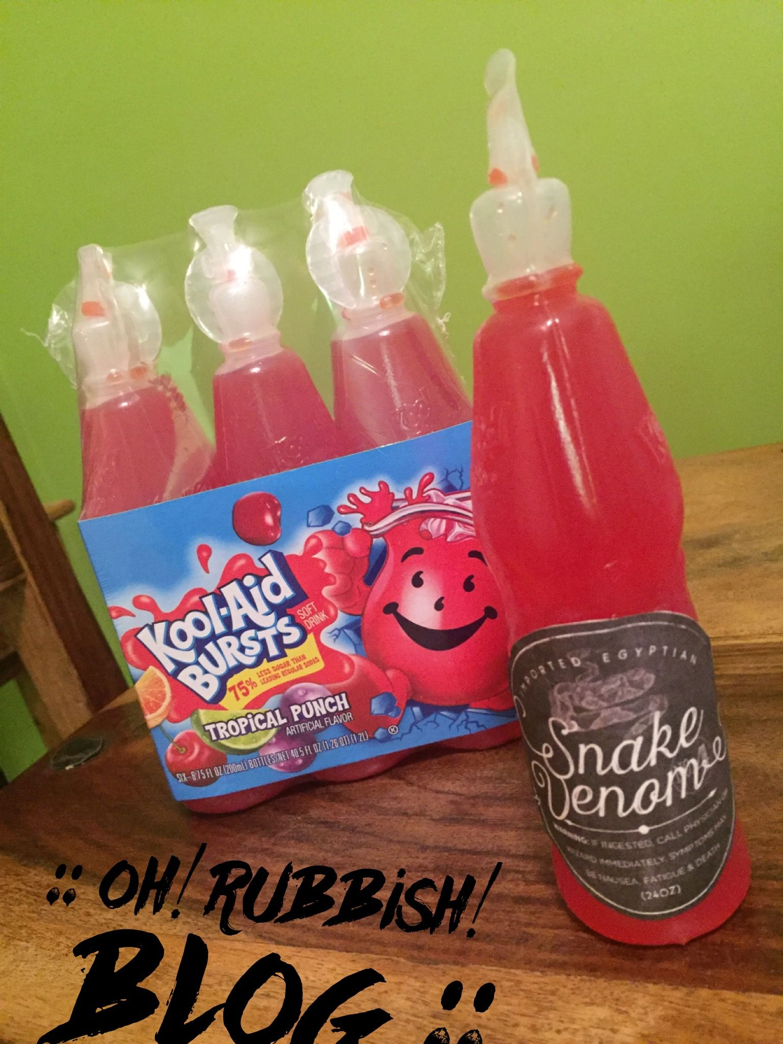 Turn Kool Aid Bursts Into Snake Venom Poison Drinks Halloween Party Foods Treats And Favors Halloween Apothecary Halloween Food For Party Kool Aid