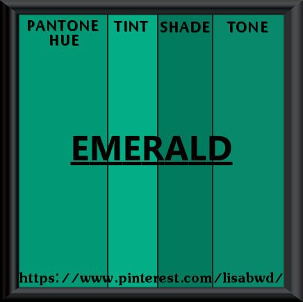 how to make emerald green color