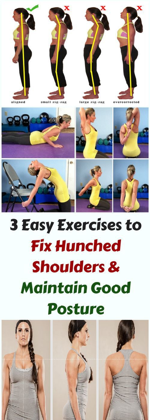 Here Are 3 Easy Exercise To Fix Hunched Shoulders