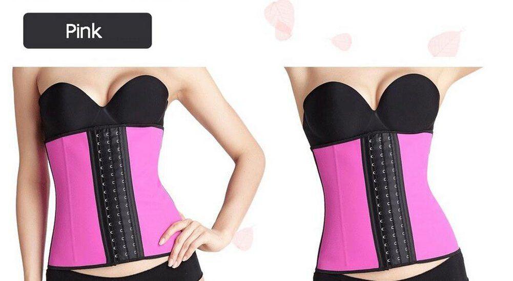 0221e23f63 best high quality Women Corset Latex Waist Trainer Shapers Lose Waist  Cincher Tummy Slimming Belt Underwear XXL Purple Leopard     You can get  additional ...