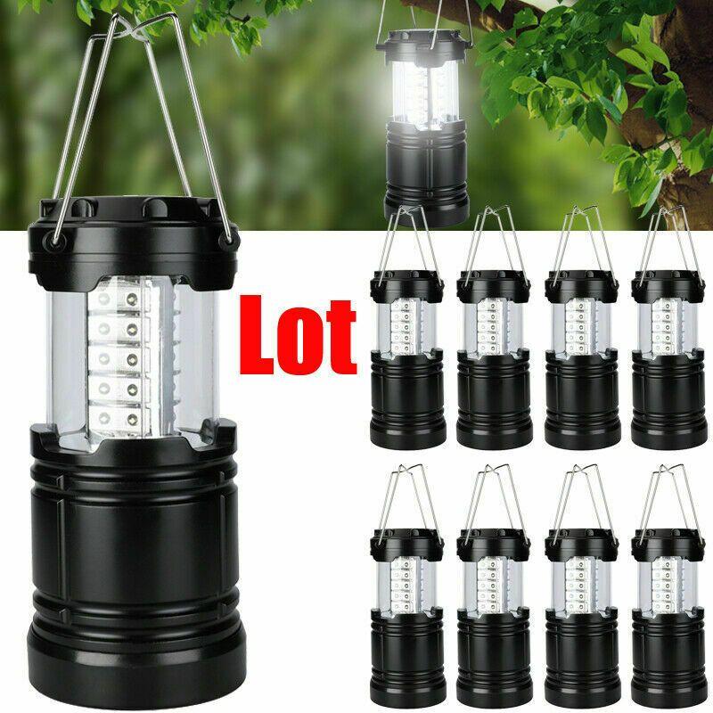 Hanging Led Tent Light Emergency Lantern Lamp 4 Pack Portable