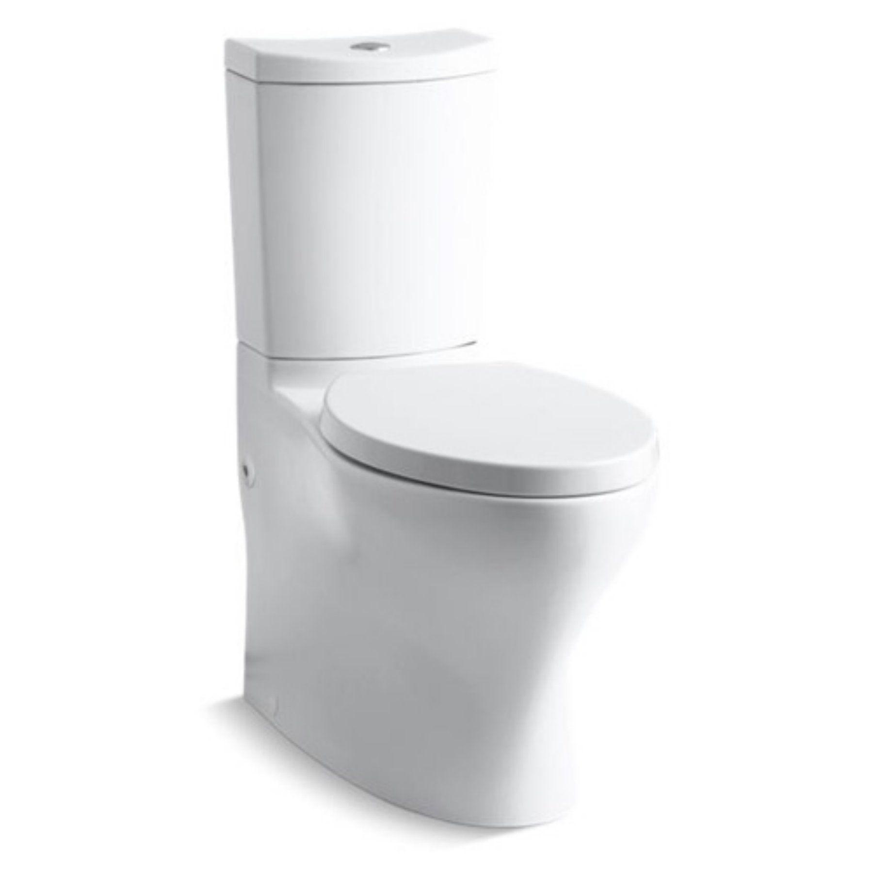 Kohler Persuade Curv Koh6355 Comfort Height Two Piece Elongated Toilet Toilet Modern Bathroom Decor Dual Flush Toilet