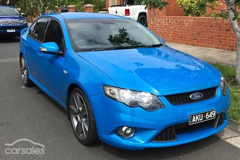 2010 Ford Falcon Xr6 Turbo 50th Anniversary Fg Cars For Sale In