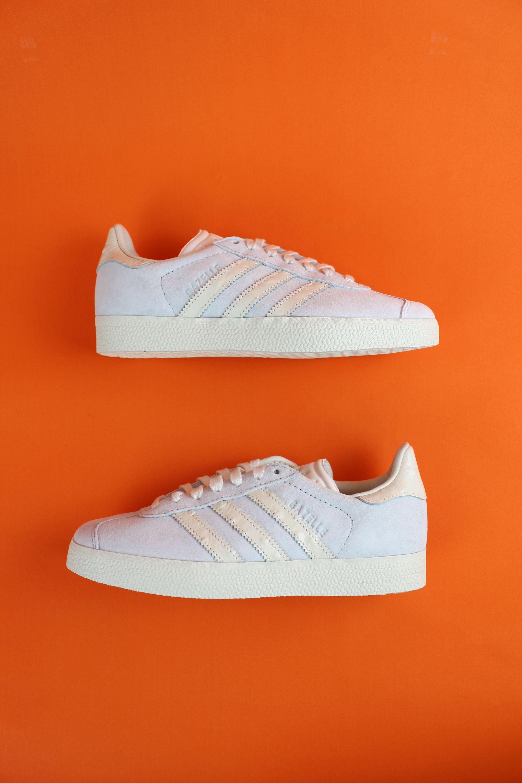 adidas Originals Gazelle W Blue Tint Suede - Trainers Shoes ...