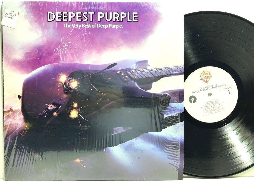 Deepest Purple The Very Best Of Deep Purple Original Lp Vinyl Record Album Vinyl Record Album Vinyl Records Lp Vinyl
