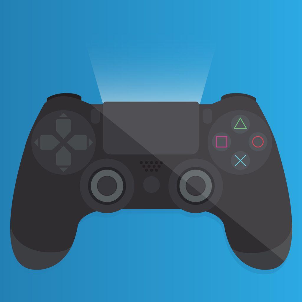 Ps4 Controller Vector Ps4 Controller Ps4 Console Vector