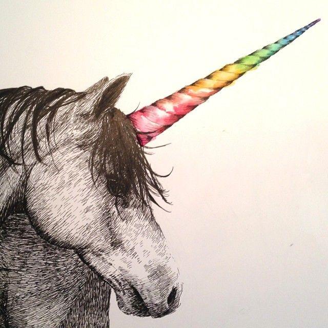 somethings happening to #abcdream #unicornrainbow