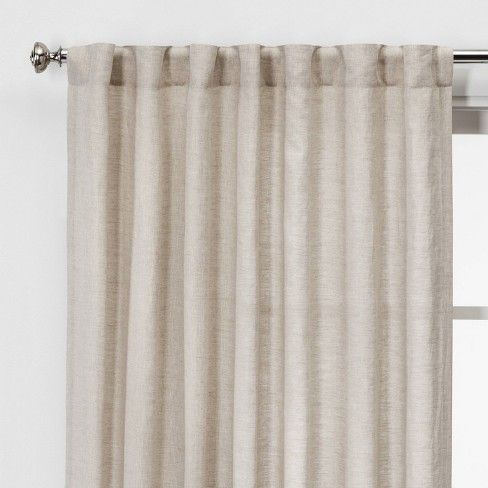 New Threshold Quality /& Design Fabric Shower Curtain HONEYCOMB ~  Blue and White