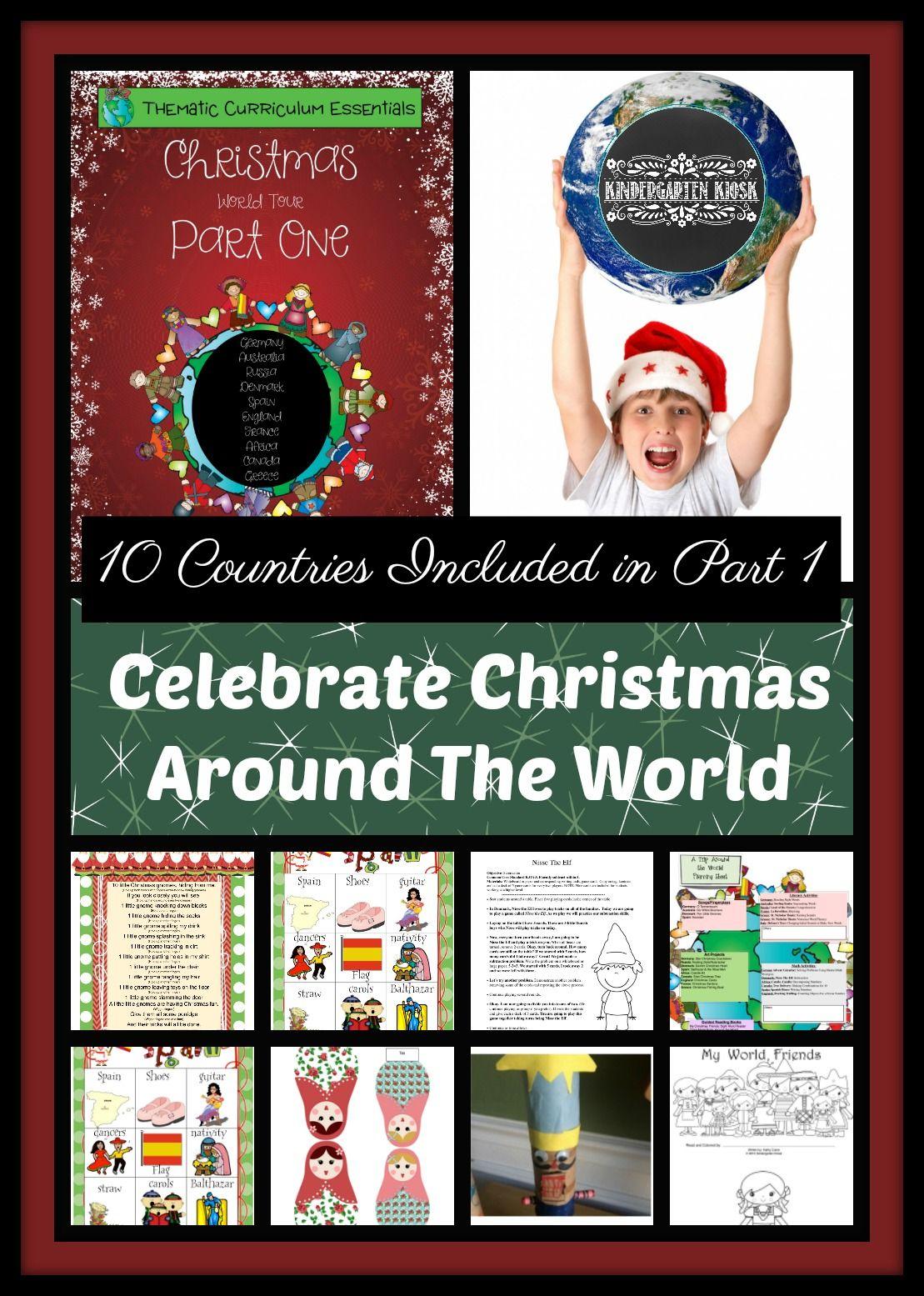 Celebrate Christmas Around The World Theme Unit Part 1
