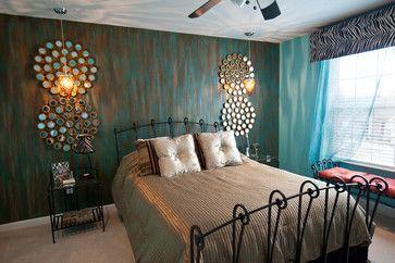 Brown Bedroom Decor Designer unknown- Photo Courtesy of ...