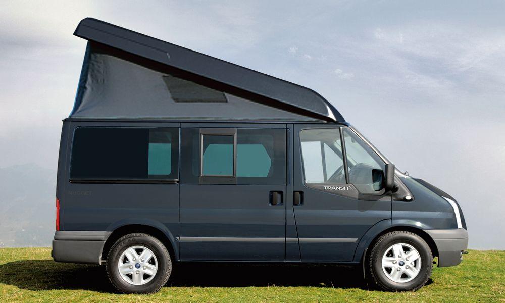 ford transit nugget camper van ideas pinterest. Black Bedroom Furniture Sets. Home Design Ideas