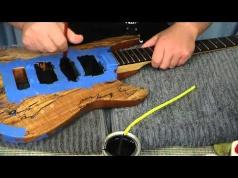 Electric Guitar Shielding With Conductive Paint And Copper Tape Youtube In 2020 Guitar Classes Guitar Problems Electric Guitar