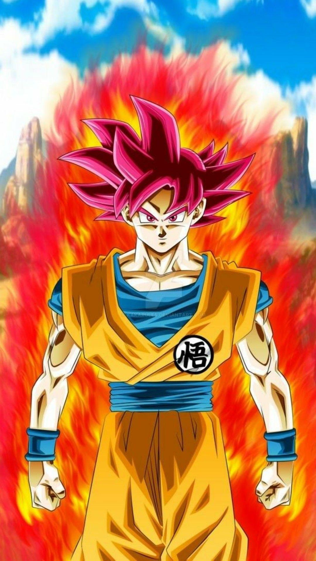 Goku ssj dios dc imagenes de goku dios super goku y - Imagens de dragon ball super ...