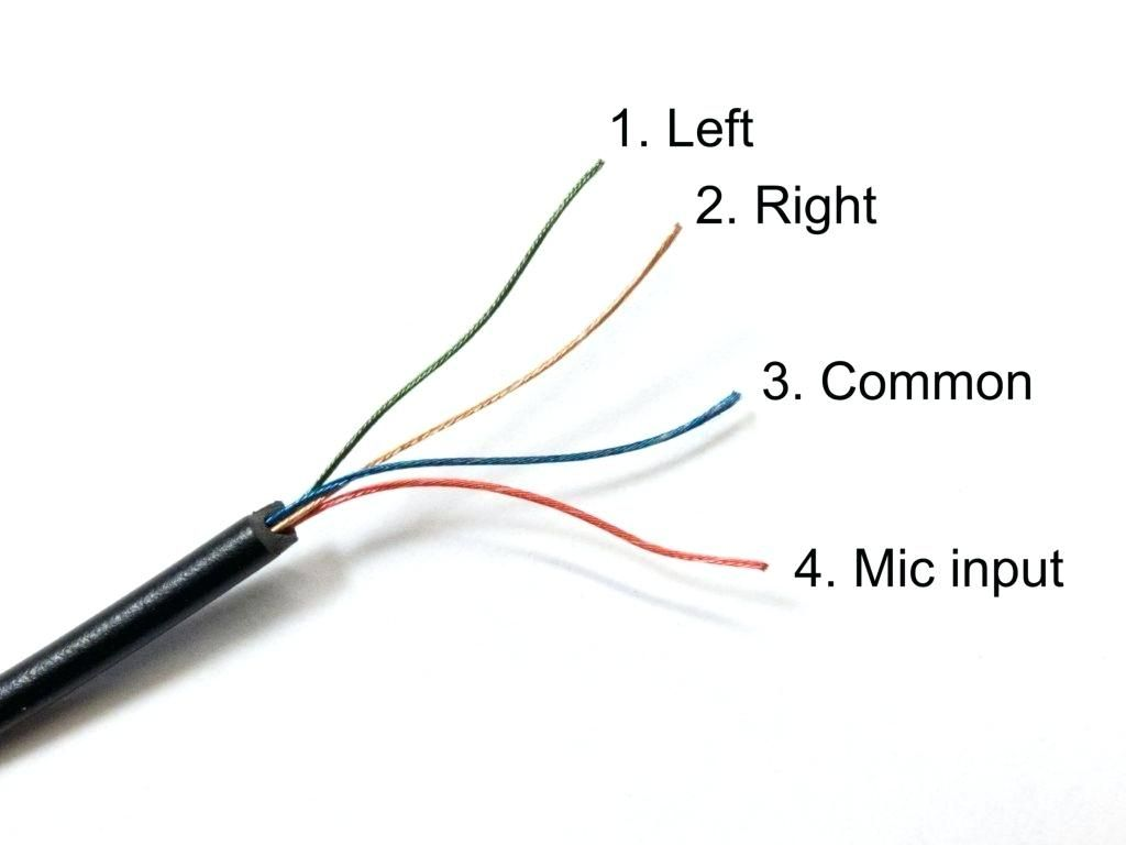 Headphone Jack Wiring Diagram 35mm How Do I Wire Condenser Mics In With Headphone Usb Headphones Earphones Wire