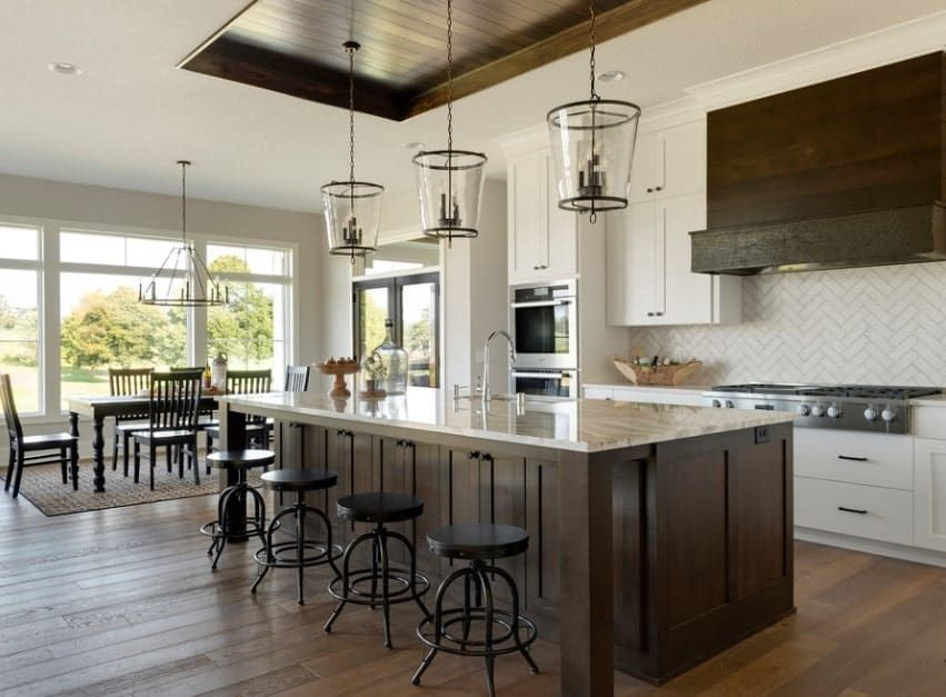 70 Kitchens with Tray Ceilings (Photos)   Kitchen design ...