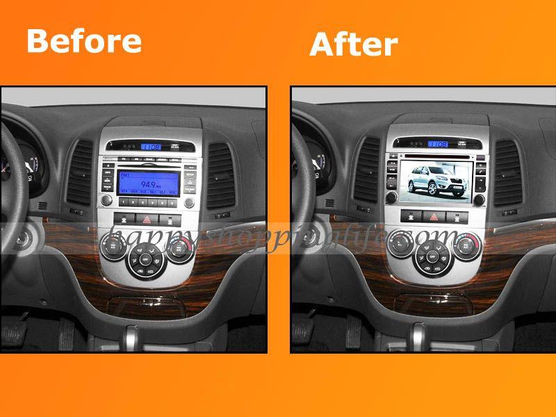 Android Car Dvd Player Gps Navi 3g Wifi For Hyundai Santa Fe
