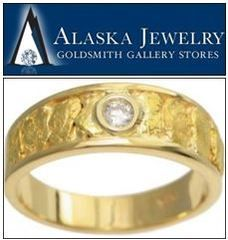 Leading Alaskan Jewelry Store and Online Retailer Unveils Unique Gold Nugget Jewelry