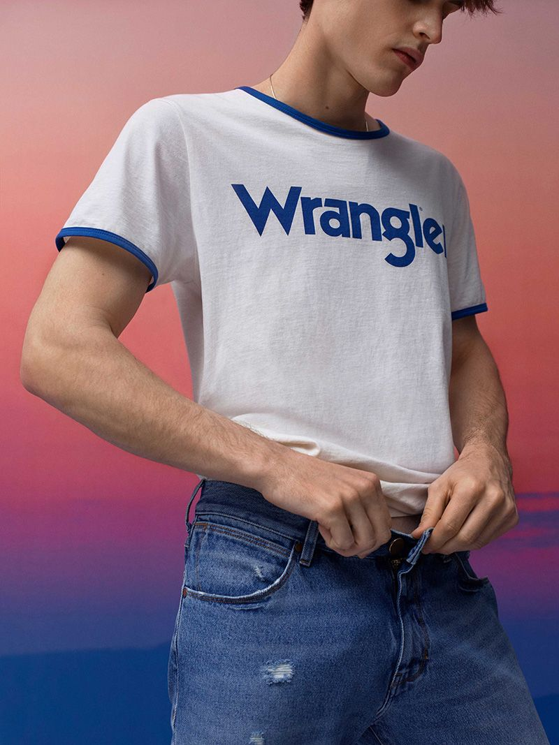 e9fc1a9d The 'Wrangler 70 Years' advertising campaign echoes the collection by  bringing to its striking imagery a genuine 1970s fashion editorial feel to  it, ...