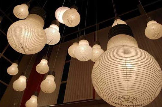 Paper Light Bulbs Repin By Pinterest For Ipad
