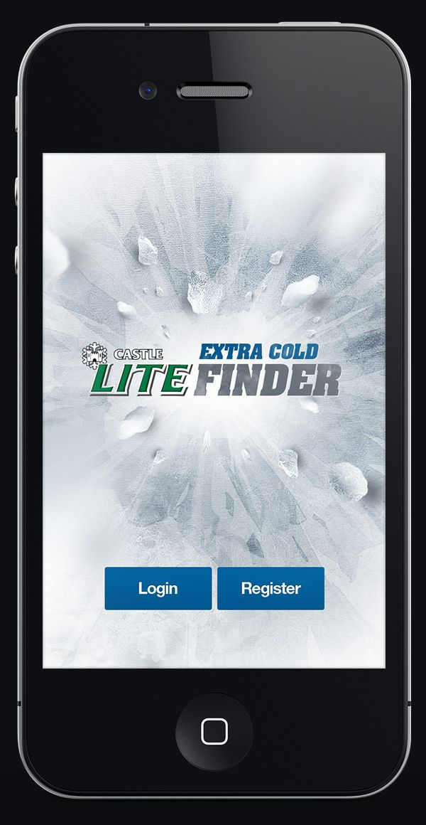 Castle Lite / Extra Cold Finder iOS/Android Application on