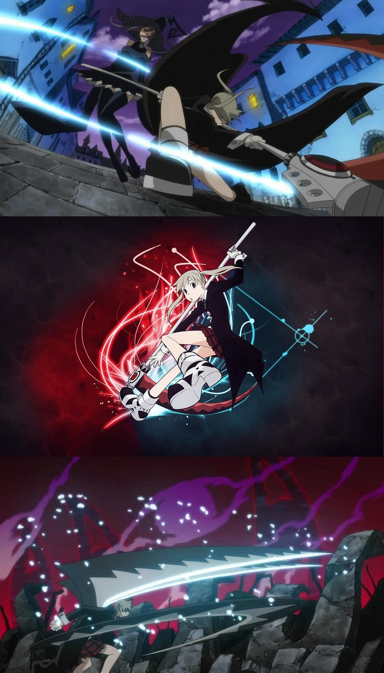 Maka Albarn Anime soul, Soul eater, Anime