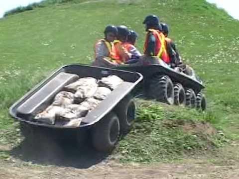 Amphibious Atv Utv Pulling Heavy Loads Argo 6x6 8x8 Part 17 Argo Atv Drift Trike Go Kart