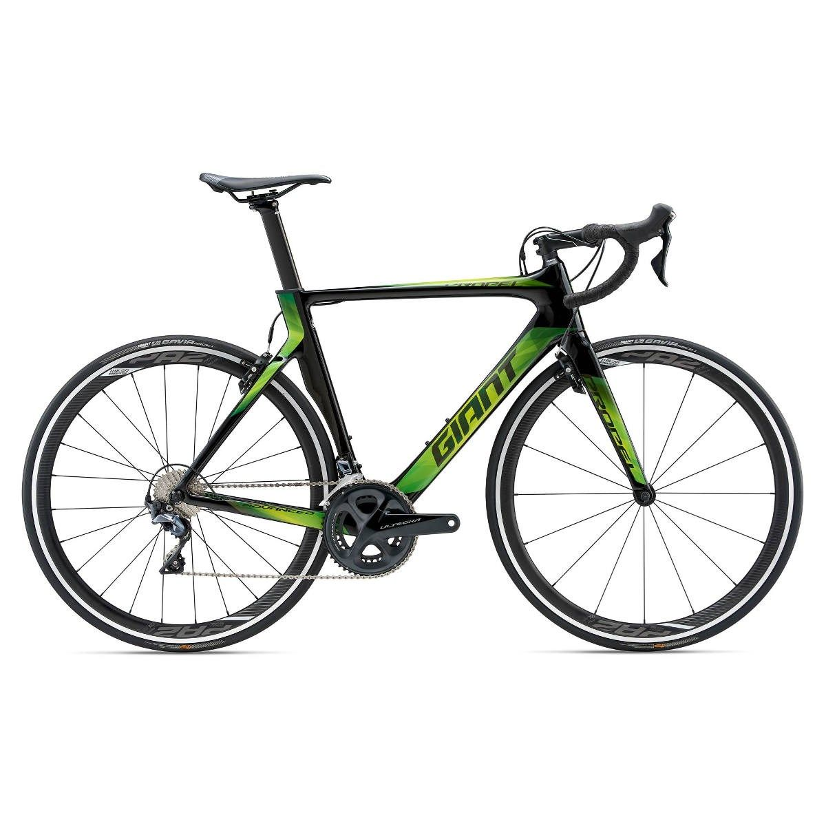 Giant Propel Advanced 1 2018 Carbon Road Bike Green With Images