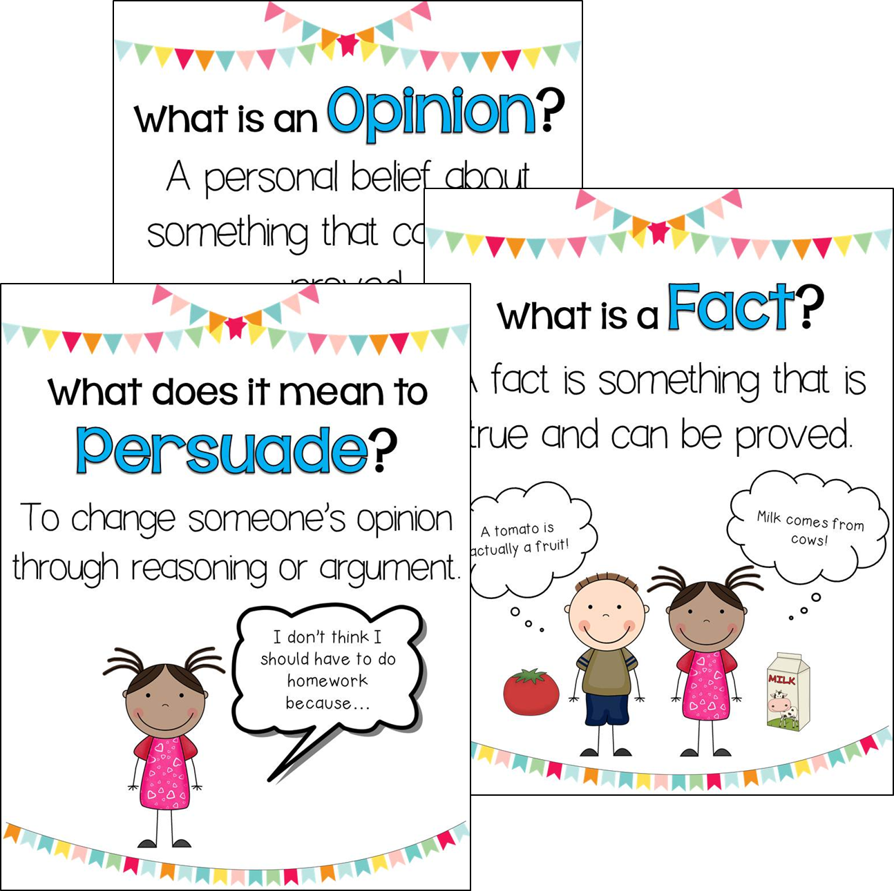 Anchor Charts To Help Students Write Opinion Persuasive