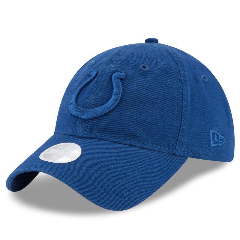 sale retailer e7e6c 3a02e Indianapolis Colts New Era Women s Preferred Pick Tonal 9TWENTY Adjustable  Hat - Royal