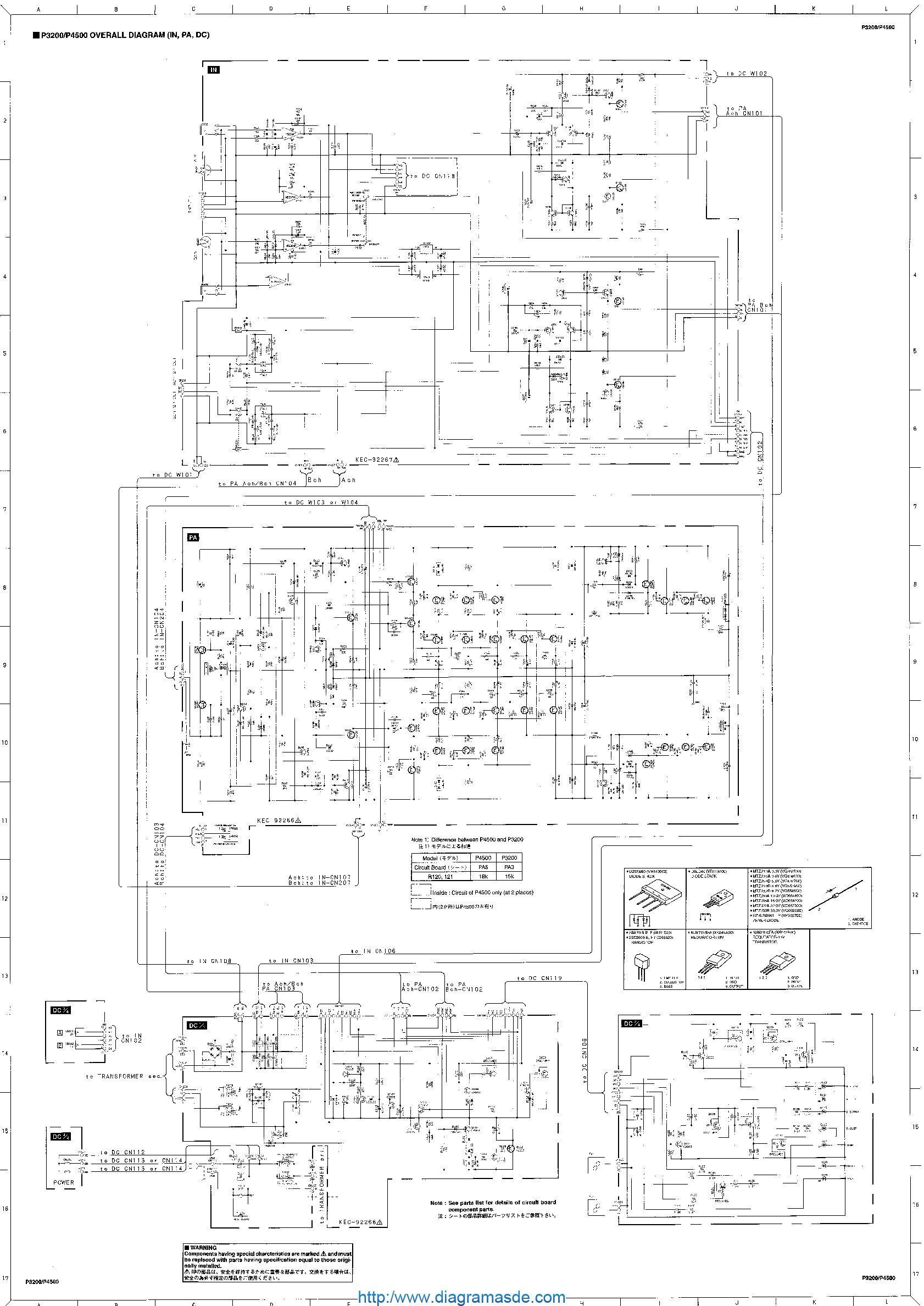 yamaha p3200 p4500 pdf