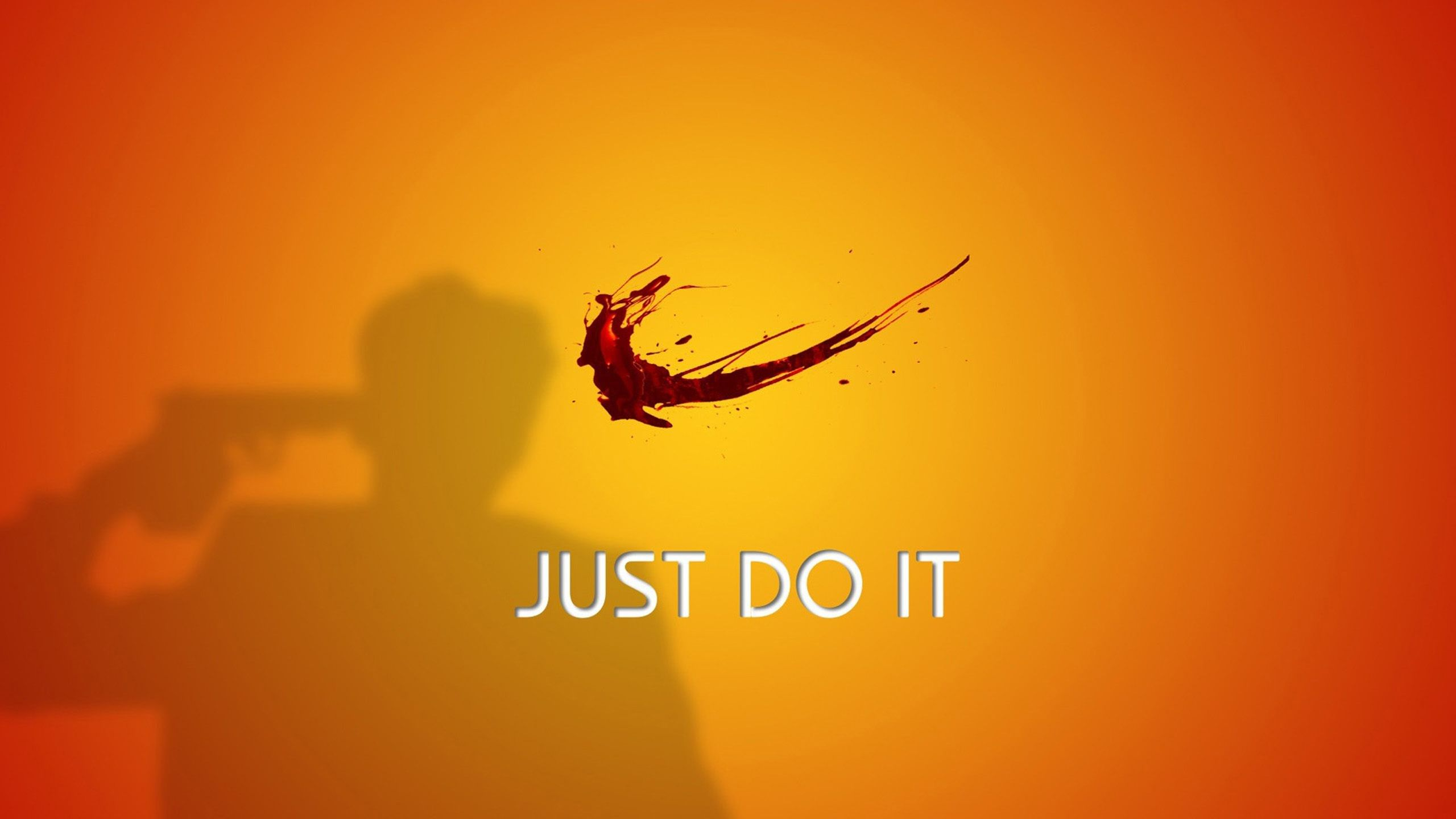 Do It Just Do It Nike Funny Wallpaper