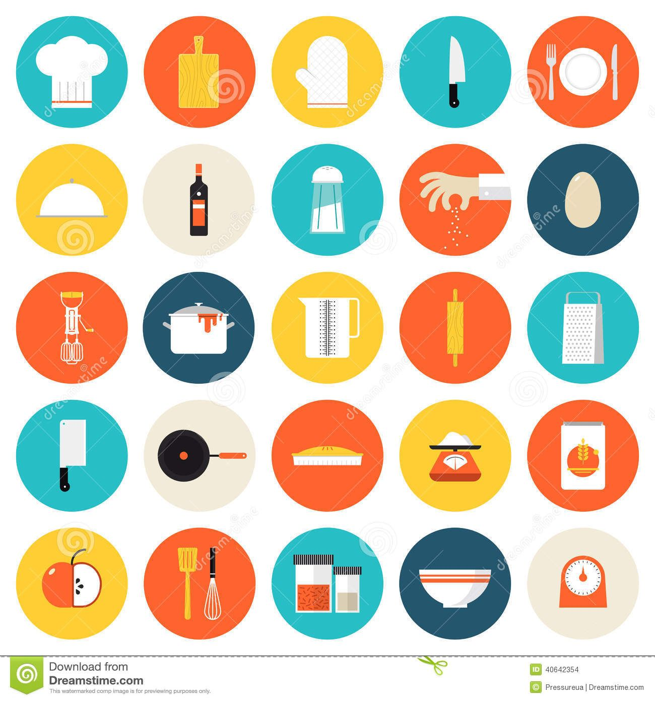 Image result for cooking icon flat design (avec images