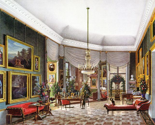 Berliner Schloss Wohnzimmer Knigin Elisabeth