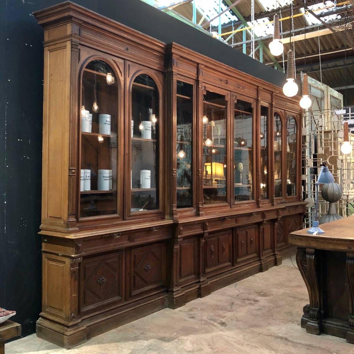 Huge French Bookcase Mobilier De Salon Decoration Design