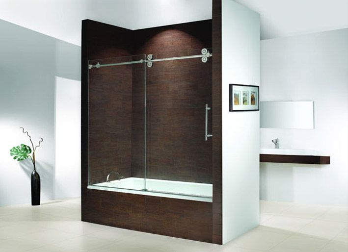 Glass Shower Doors Over Tub shower door of canada inc.: toronto manufacturer and installer of