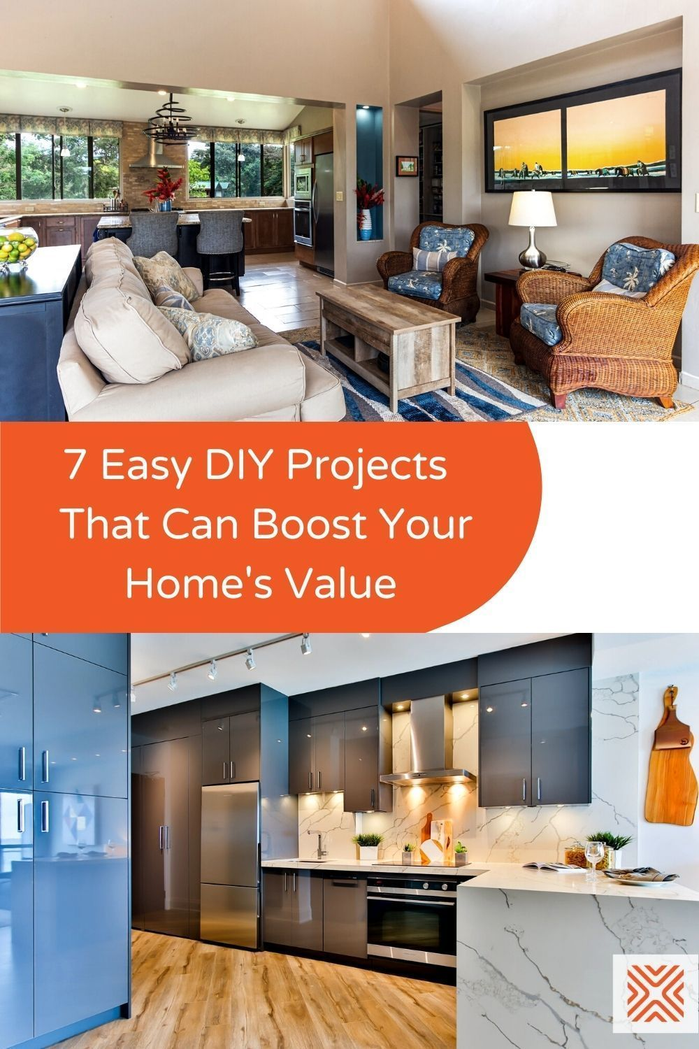 These small, budget-friendly home renovation projects can help you raise your home value by a lot more effort than what you put into it! Check them out and get your DIY projects started.