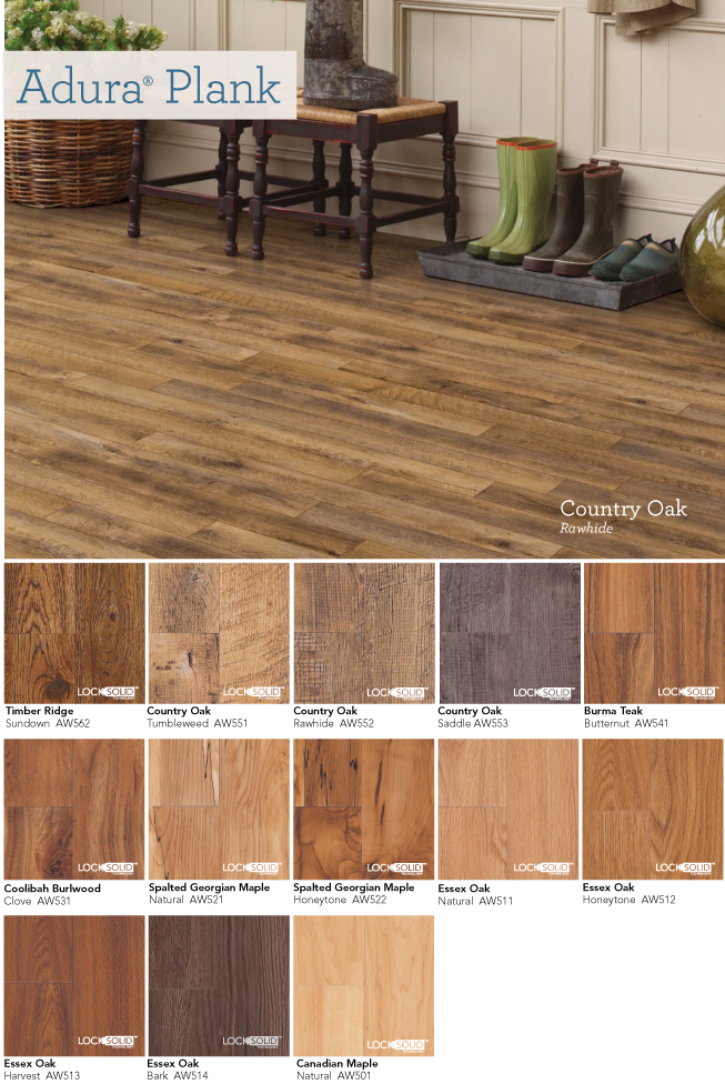 you can install allure isocore multi-width vinyl plank flooring in