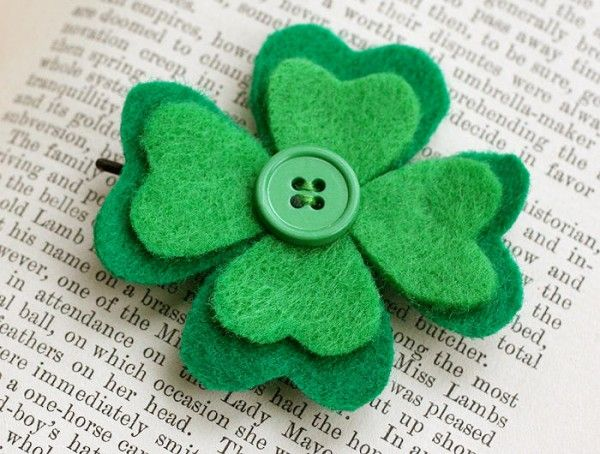 7 Crafts To Make With Felt Shamrocks
