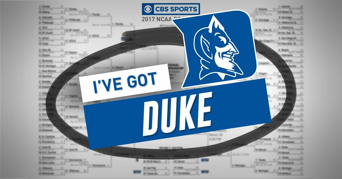 Did my bracket on CBS Sports app. Go Duke! Cbs sports