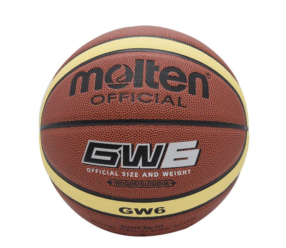 Original Molten Basketball Ball Gw6 New Brand High Quality Genuine Molten Pu Material Official Size6 Basketball Af Basketball Ball Basketball Basketball Teams