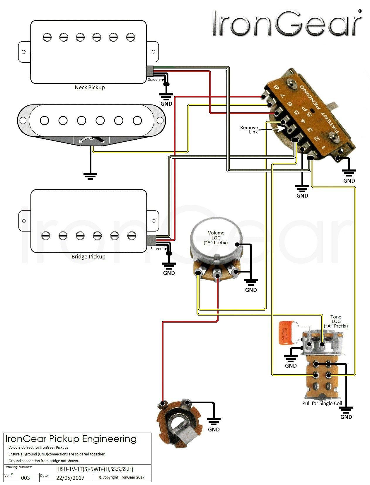 Fender 5 Way Switch Diagram in 2020 Diagram, Bathroom