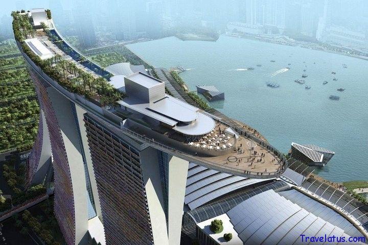 Marina Bay Sands Resort, Singapore  http://www.marinabaysands.com/