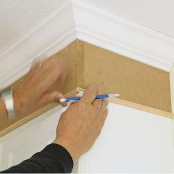 Extend Cabinets To Ceiling With Moulding Cabinets To