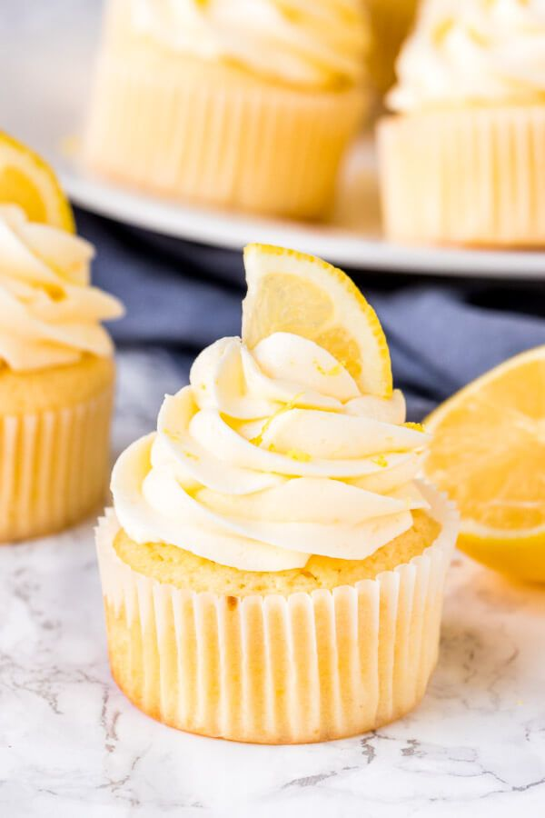 These homemade lemon cupcakes are fluffy, moist and topped with lemon buttercream frosting. The cit