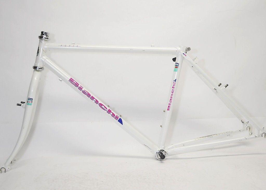Vintage bianchi forte bicycle 18 inch lugged frame & fork   Pinterest