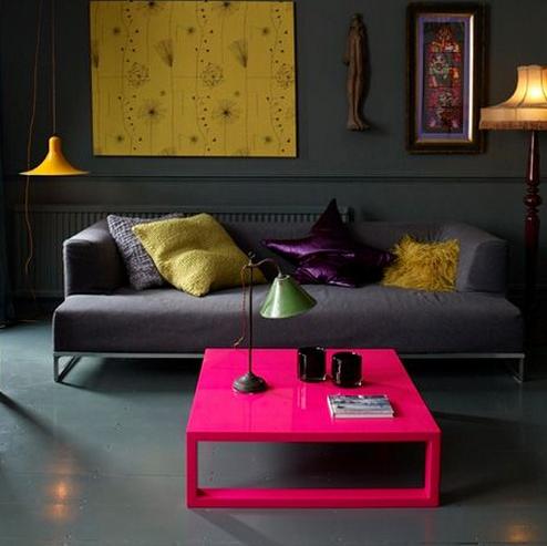 PINK LIGHT | o rosa no tom 'pink' consegue iluminar ambientes escuros por gerar…