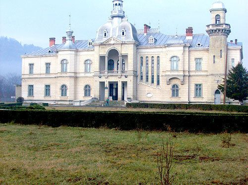Ghika Palace, Bacau County, RO (1890)